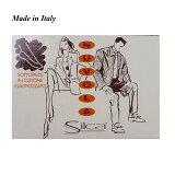 メンズ レディース 1足イタリア製 フットカバー SILCAインナーソックス 脱げない ショートソックス【送料無料メール便】【メンズ靴下 レッグウエア メンズ靴下 ショートソックス 誕生日プレゼント ギフト】●**