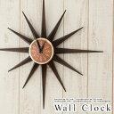 【送料無料】壁掛け 時計 掛け時計 インテリア クロック壁掛け時計 サンタイム