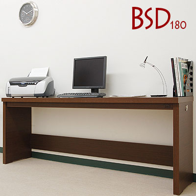 パソコンデスク ワイド パソコンラック オフィスデスク 木製 デスク pc 机 PCデスク…...:model-bon:10000469