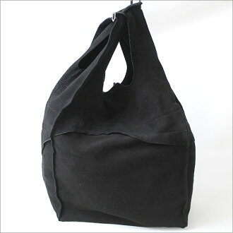 ♦ TAKAHIRO MIYASHITA The SoloIst. (Soloist) rough out supermarket bag suede leather bag black