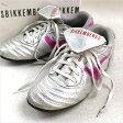 BIKKEMBERGS ビッケンバーグ レザースニーカー シルバー 41(26cm程度)【中古】05P01Oct16