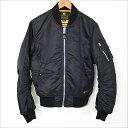 NEIGHBORHOOD ネイバーフッド 16AW Thinsulate 中綿MA-1ジャケット ブラック S【中古】