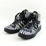 adidas Originals by JEREMY SCOTT アディダスオリジナルスバイジェレミースコット JS WINGS マルチパターンハイカットスニーカー メンズ ブラック×ホワイト 27.5cm