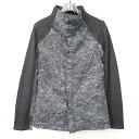 【中古】OURET オーレット 16SS FUNNEL COLLAR FLY FRONT SHIRT ファネルカラーシャツジャケット チャコールグレー 2 メンズ