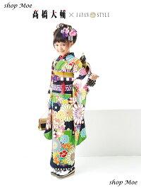 2016新作七五三着物7歳フルセット着物JAPANSTYLEジャパンスタイルブランド着物7歳7才女児ブランド着物フルセットキッズ着物♪ブランド髪飾り付♪J2(JS_J-2)ブランドで差がつく七五三!