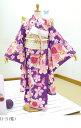 七五三着物七歳新品2009新作 乙葉 OTOHA/7歳四つ身・女児ブランド着物 H-3_安心フルセット!