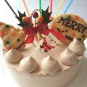 【2016クリスマスケーキ】卵・小麦粉・乳製品不使用のチョコデコ15cm