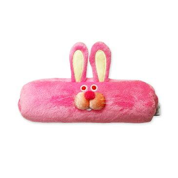 ウィスカーズ ペンシルケース ウサギ GLADEE(グラディー)・ ペンポーチ(ペンケース)や筆箱(ふでばこ)トラベルポーチ(旅行ポーチ)コスメポーチ(化粧ポーチ メイクポーチ)アクセサリーポーチにも使えるかわいいポーチ