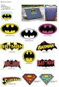 バットマン スーパーマンステッカー・アメコミグッズ / アメキャラ雑貨 / BATMAN / SUPERMAN / バッドマン / シール / ステーショナリー / 文房具 / D...