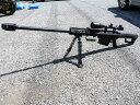 SNOW WOLF(スノーウルフ)・バレットM82A1 スコープ付 電動ガン
