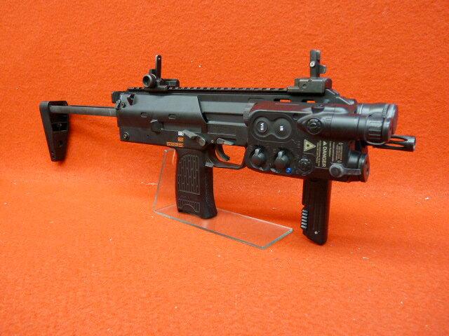 電動コンパクトマシンガン MP7 BIG-CAPA(ビーキャパ)震閃電カスタム ブラック