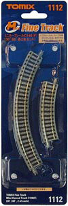 TOMIX mini curved track C140 (F) ( 30 °, 60 °, set of 2 each ) train