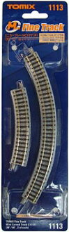 TOMIX mini curved track C177 (F) ( 30 °, 60 °, set of 2 each ) railway model fs3gm
