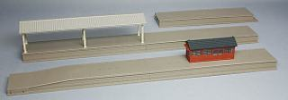 TOMIX Island platform set (local type) railway model fs3gm