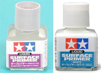 TAMIYA Tamiya surfacer (40 ml bottled) white BIGMAN (bigman)