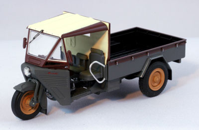 Ebro [EBBRO] 1 / 43 Mazda CL/1200 1952 with hood (grey/brown) BIGMAN (bigman)