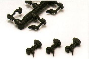 KATO coupler N PAT. (Black) for the Arnold type (10 pieces pieces) train