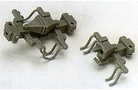 KATO coupler tightly coupled form A (grey) for Arnold (10 pieces pieces) train model BIGMAN (bigman)