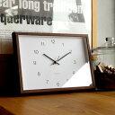 ■「Hacoa Frame Clock」時計 壁掛け時計 置...