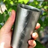 ■錫の鋳物「ビアカップ」