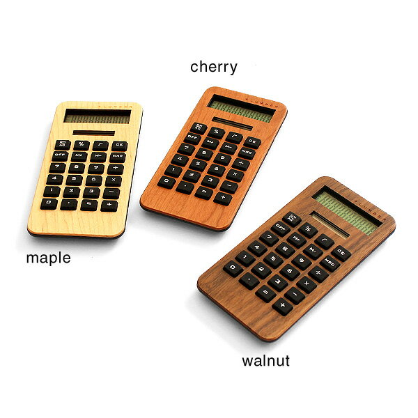 ■【+L MINI2】木製ソーラー電卓「SOL...の紹介画像2