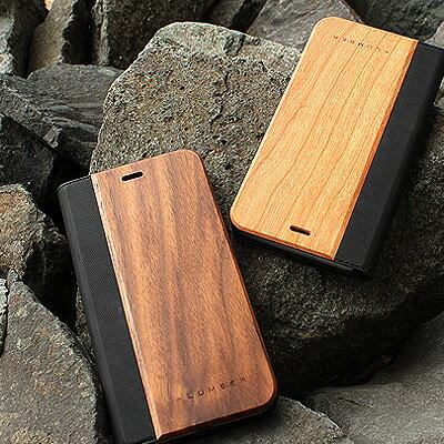手帳型の木製アイフォンケース、iPhone6 Plus/6s Plus専用フリップケース