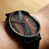 ■文字盤に本木目を使用した美しいシンプルな木製腕時計「WATCH 1100」メンズ/レディース