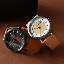 ■【ペア】ステンレス削り出しケースに銘木を使用した腕時計「W...
