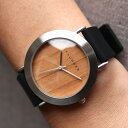 ■3300「+LUMBER WATCH 3300(シリコンベルト)」腕時計 ウォッチ 木製 ウッド メンズ レディース ユニセックス 日本製ムーブメント 生..