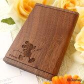 ■ディズニーキャラクターの木製名刺入れ