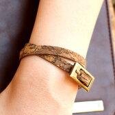 ■コルクレザーのブレスレット「CONNIE 7mm Bracelet」