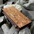 ■コルクレザーの長財布「CONNIE Double Wallet」