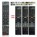 ソニー ブルーレイ リモコン RMT-B007J RMT-B009J RMT-B012J RMT-B013J RMT-B014J SONY 代用リモコン リスタ