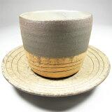 Cup & Saucer (Traditional)-Tanba Tachikui Pottery-
