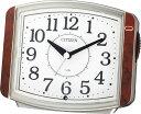 シチズン 目覚まし時計 サイレントミグ 8RE644-023