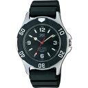 シチズン Q&Q 腕時計 SOLARMATE (ソーラーメイト) ソーラー電源 アナログ表示 10気圧防水 ブラック  H950J002 メンズ【あす楽対応】