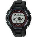 CITIZEN(シチズン)腕時計 Q&Q(キューアンドキュー) SOLARMATE(ソーラーメイト) ソーラー電波時計 ブラック MHS6-300 メンズ 【あす楽対応】s【コンビニ受取対応商品】