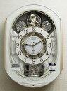【動画あり】送料無料 セイコー からくり時計 掛け時計 ウエーブシンフォニー 電波時計 ツイン・パ RE565H 【あす楽対応】