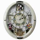 送料無料★セイコークロック SEIKO ディズニー 掛け時計 からくり時計 電波時計 FW580W【あす楽対応】【動画あり】