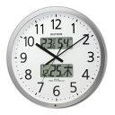 【取り寄せ品】送料無料 リズム時計 オフィスタイプ プログラムカレンダー403R 掛け時計 4FN403SR19
