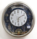 送料無料★セイコー からくり掛け時計 ウエーブシンフォニー 電波時計 RE561H【あす楽対応】