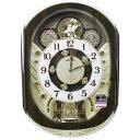 セイコークロック からくり時計 電波掛け時計 スワロフスキー...