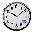 送料無料 シチズン リズム時計 掛け時計 スペイシーM522 プルーフ522 防滴・防塵 4MG522-050 クロームメッキ 【あす楽対応】