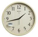 送料無料 訳あり特価!セイコー 電波時計 掛け時計 スタンダード ナチュラルスタイル アイボリー塗装 KX399A【あす楽対応】