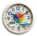 送料無料 訳あり特価!セイコー 知育掛時計 キッズ用掛け時計 スイープセコンド KX617W(白)【あす楽対応】
