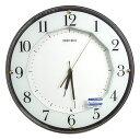 セイコークロック 電波掛け時計 連続秒針 KX213B【あす楽対応】