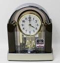 送料無料★セイコー 電波置時計 正時メロディ BY238B 濃茶マーブル模様【あす楽対応】
