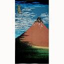 【メール便 送料無料】浮世絵のれん 赤富士 85x150 葛飾北斎 富嶽三十六景 富士山 2000