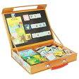 英語 アルファベット 磁石 パズル マグネット 知育玩具 動物の名前のABCパズル 3歳 4歳 5歳 誕生日 プレゼント