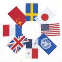ビニール万国旗 小 8ヵ国連続旗 【あす楽対応】